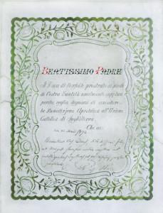 1872 letter