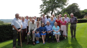 Members of the CU at Ampleforth